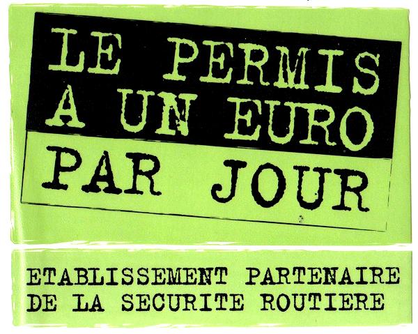 Permis 1 Euro Par Jour Etablissement partenaire 649 x 479