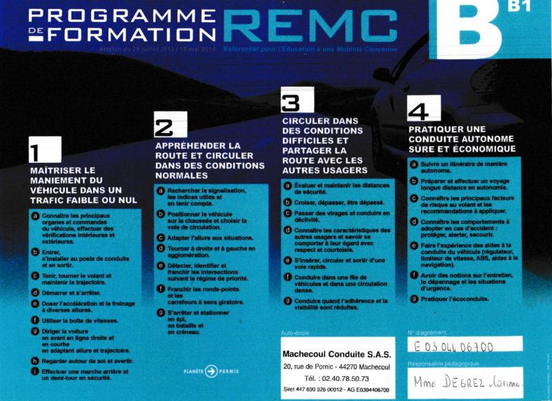 REMC B